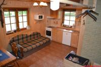 Kuchyňka v hlavní místnosti